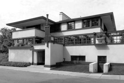 Westcott House, Springfield, OH, Frank Lloyd Wright