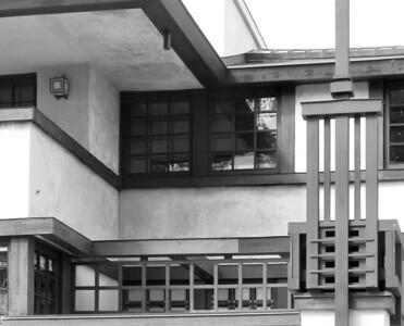 Detail, Westcott House, Springfield, OH, Frank Lloyd Wright
