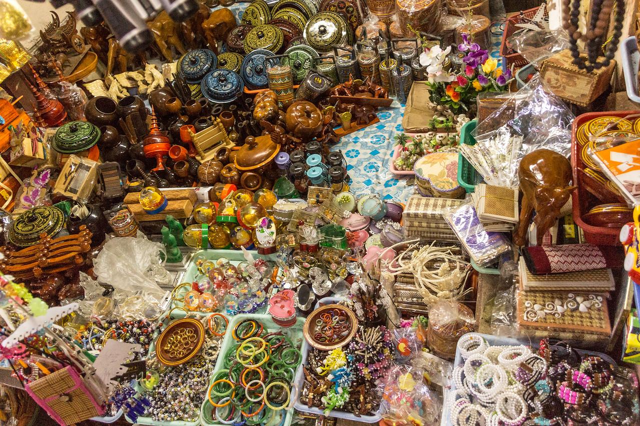 market at Taung Kalat, Myanmar