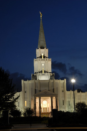 Mormon Temple in Houston