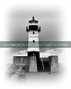 Image 11.............. B/W of Duluth MN lighthouse..