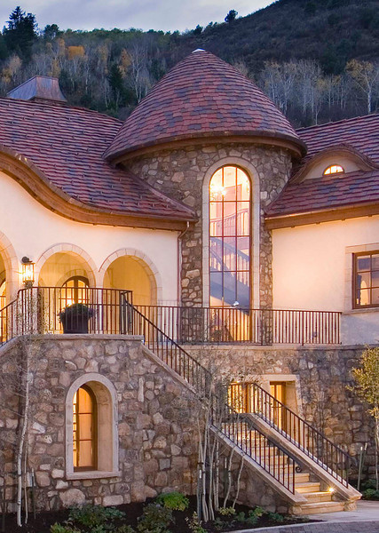 A new Old World home, tucked into the Vail valley hillside