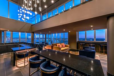 JBG 1205 Half Street Penthouse clubroom