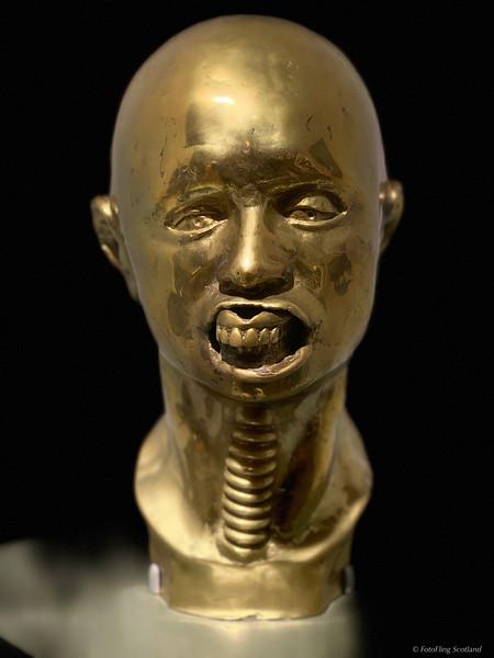 Head of Francis Bacon  - Clive Barker  (1978)