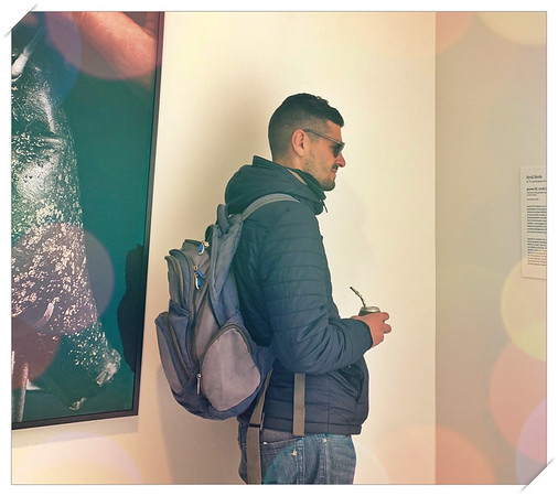 Backpacking Art Lover