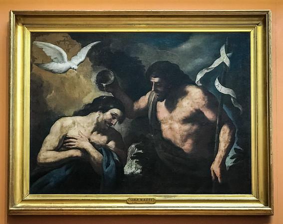 The Baptism of Christ - Sacchi (1599-1661)