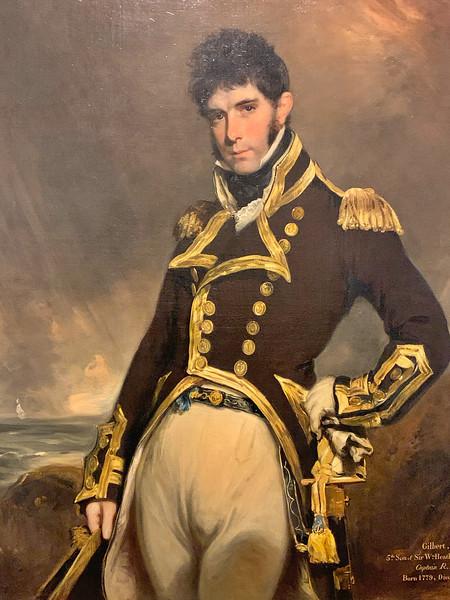 Captain Gilbert Heathcote RN  (1801-5)
