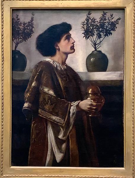 A Deacon (1883)  - Simeon Solomon