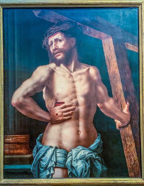 Christ as a Man of Sorrows (c1540) Jan van Hemessen
