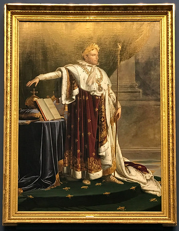 Napoleon I in Coronation Robes (1812) Girodet
