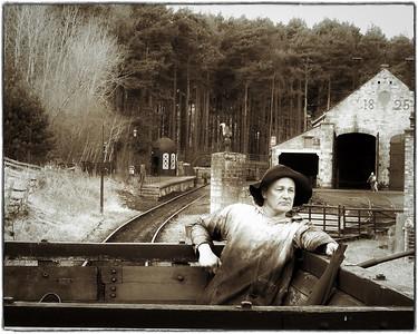 Aboard the Coal Tender