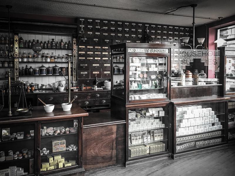 Chemist and Photographer - Beamish Museum