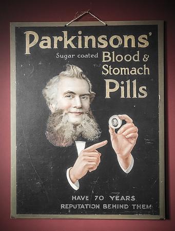 Parkinson's Blood & Stomach Pills