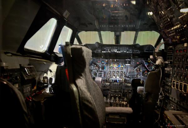 Inside Concorde's  Cockpit