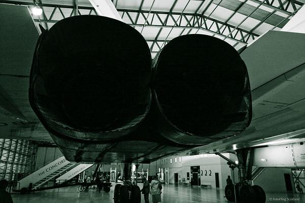 Concorde Rear View