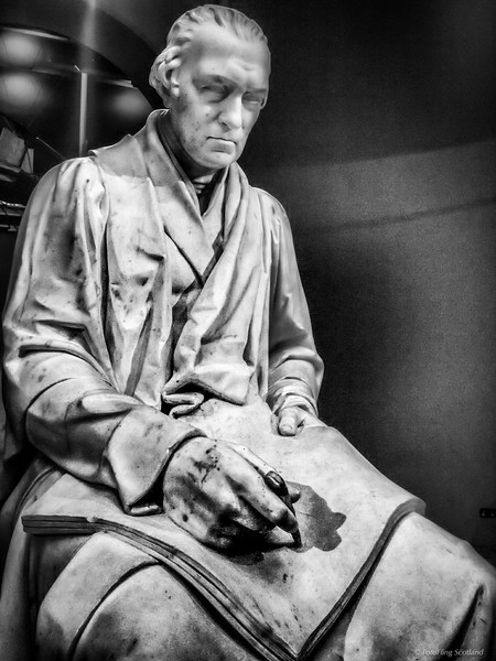 Statue of James Watt by Chantrey in National Museum of Scotland