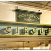 "Cinema Signage: Circle and ""High Fidelity"""