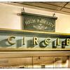 "Cinema Signage: Circle and ""High Fidelity"""