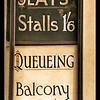 Cinema Signage: Seat Availability