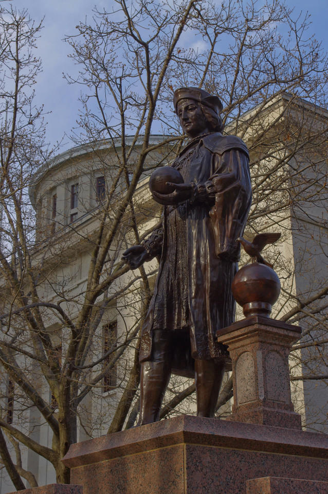 Christopher Columbus Statue -- Statehouse Columbus