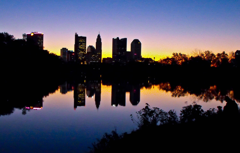 Columbus Skyline at dawn.