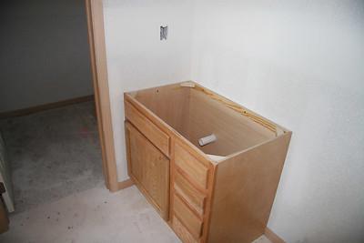 Second bedroom vanity