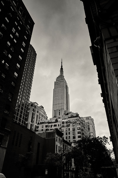 Empire State Building from Madison Ave