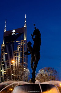 One of the photos I made of the fountain at the northwest end of the Schermerhorn Symphony Center in Nashville, TN.