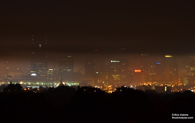 Foggy Skyline