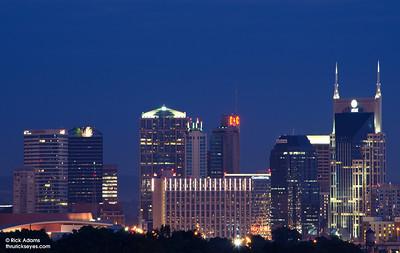 Nashville Skyline with Zoom