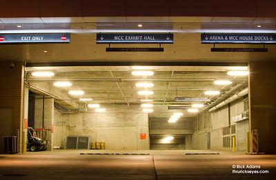 The Music City Center loading dock.