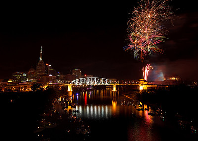 Nashville Fireworks - 4th of July
