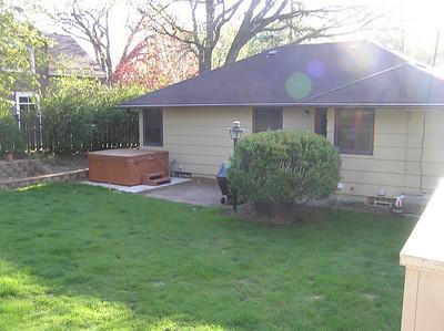 2008 New Back Yard Deck