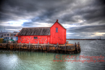 Motif #1 on a Cloudy Day