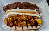Texas Dog and Bacon Wrapped Dog