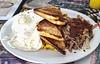 Double S Diner Barbacue Breakfast
