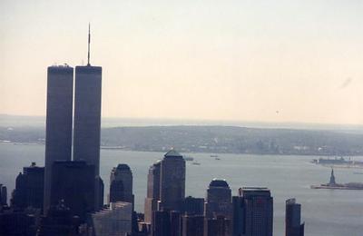 New York City, World Trade Center and Liberty Harbor, 1999