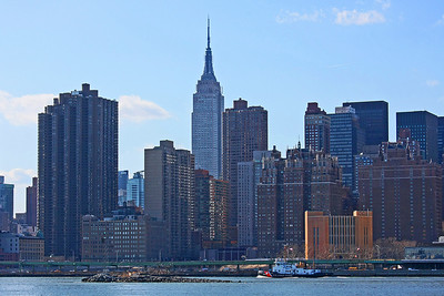 Manhattan skyline including the Empire State Building
