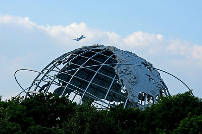 Unisphere from 1964 New York  Worlds Fair.