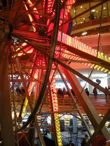 Ferris wheel inside store!