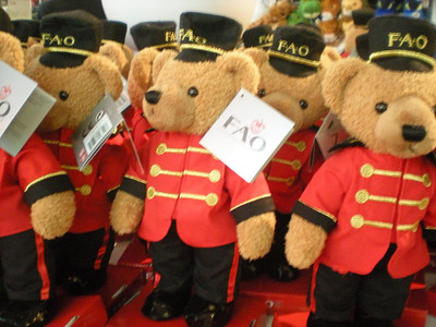 FAO toy soldier bears!