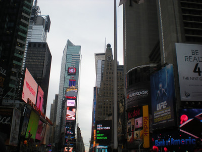 More of Times Square.