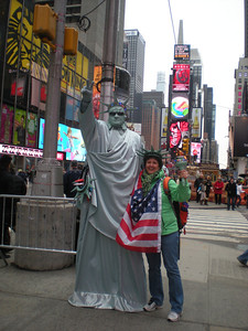 Me & Mr. Liberty! LOL
