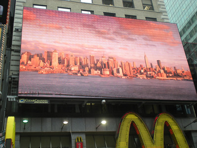 Pics of NYC in Times Square