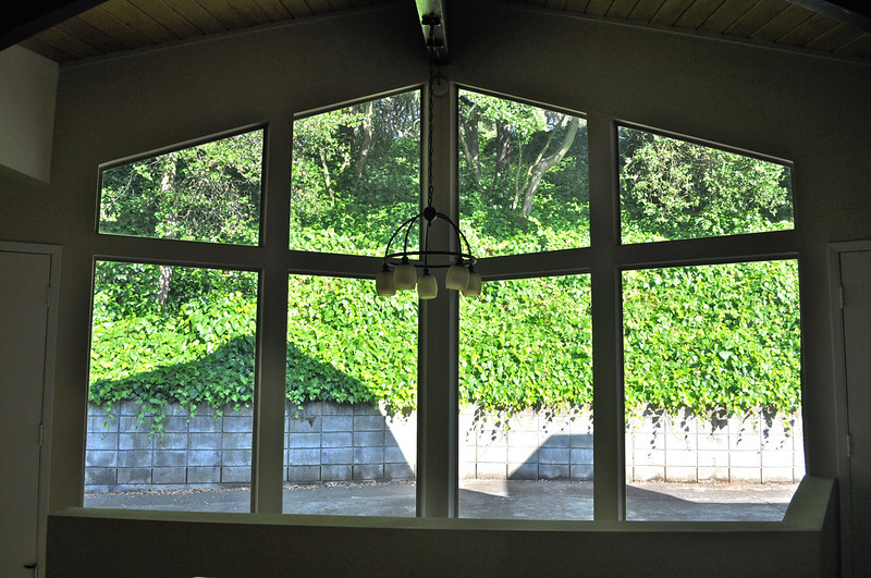 Aug 2011. From the dining room.