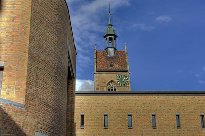 Fellbach, New Town Hall & Lutherkirche