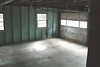 The garage is a two bay, with a great condition cement floor.