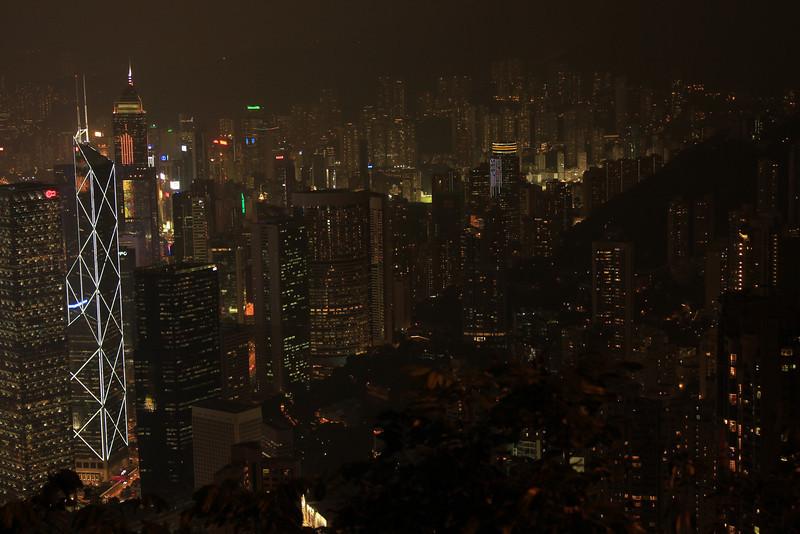 Hong Kong Skyline at Night