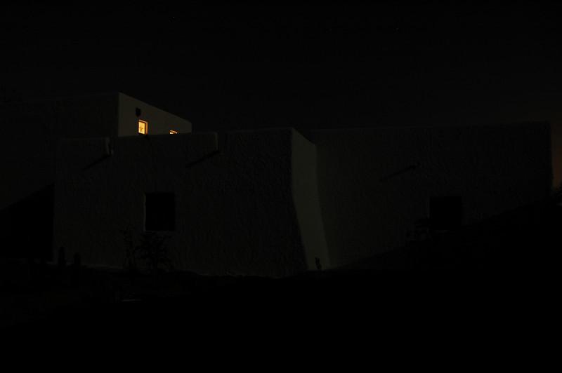 light in the chapel