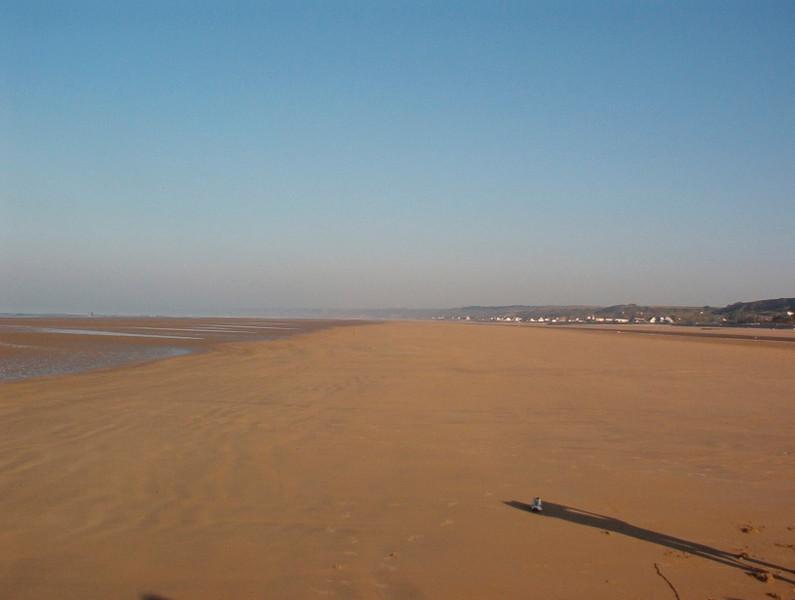 Omaha Beach, Normandy.